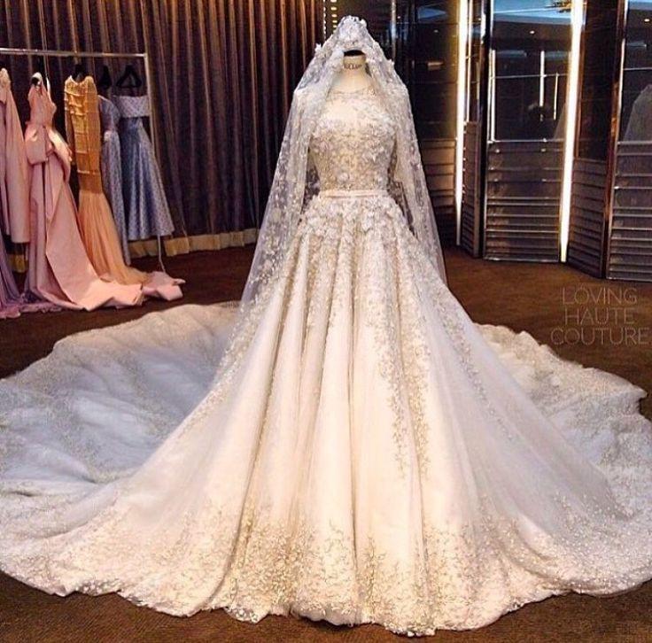 Hijab Brautkleider  Kleider Hochzeit Muslimische