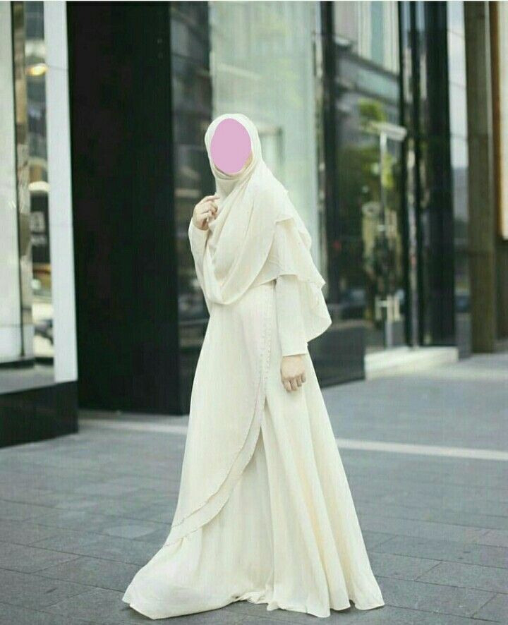 Hijab Syari  Pengantin Wanita Wanita Model Pakaian Hijab