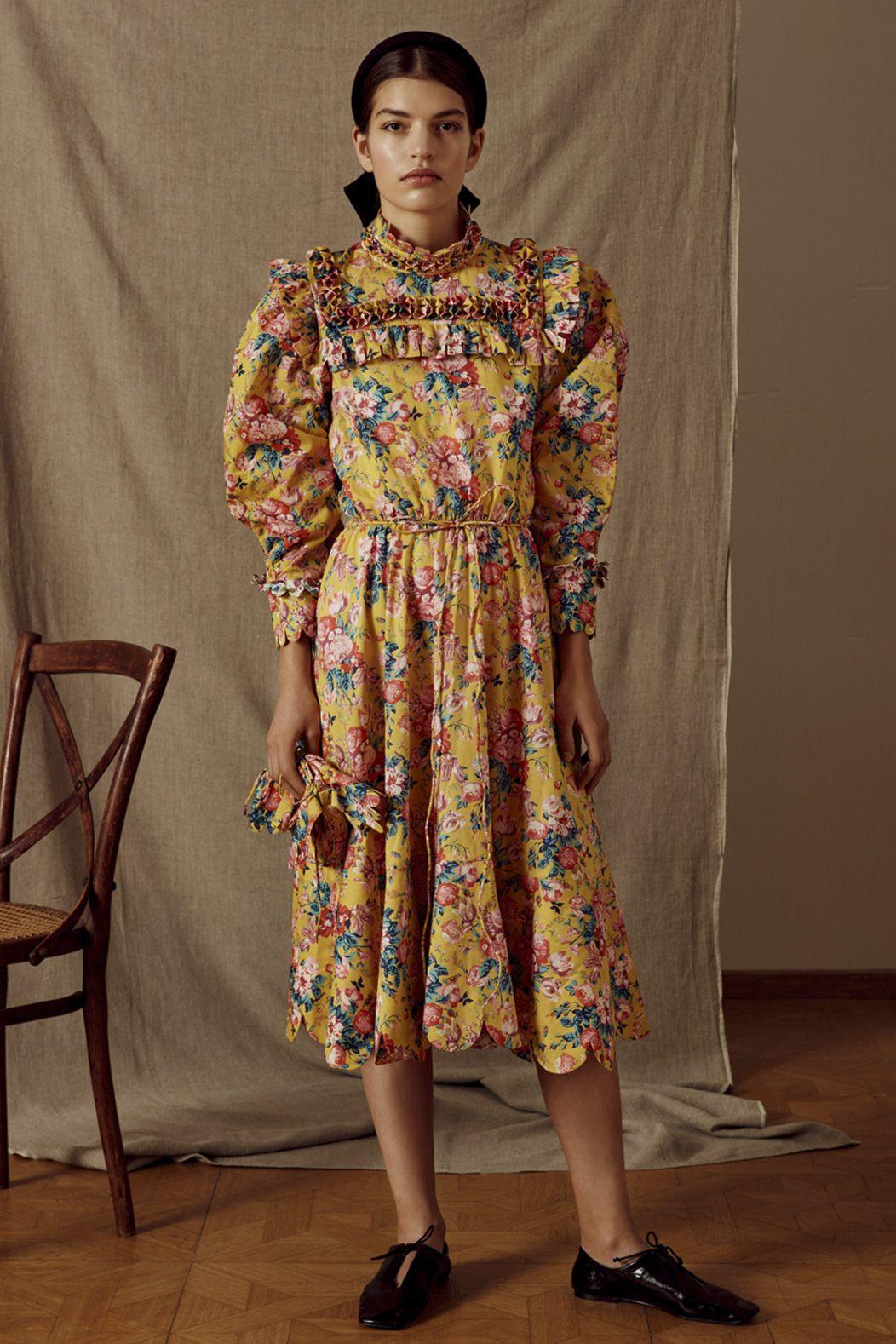 Hilaria Cotton Dress  Horror Vacui  Baumwollkleider