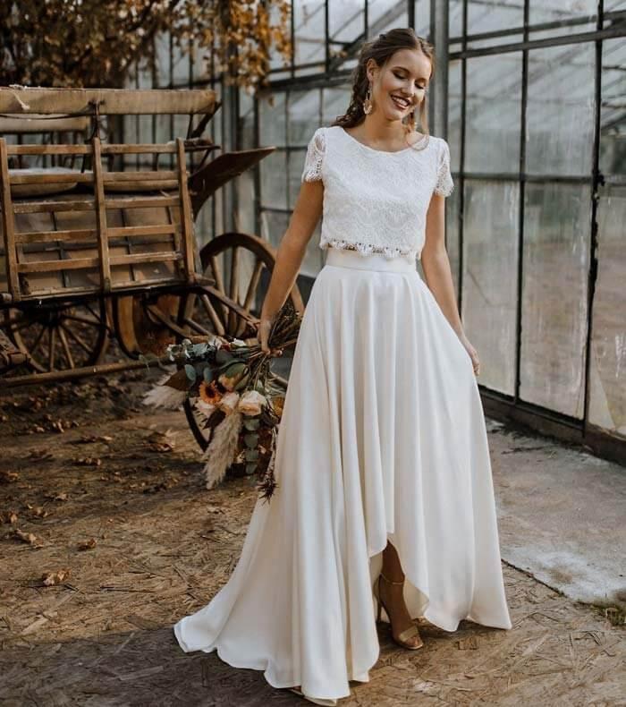 Hippie Kleid Hochzeit Gast