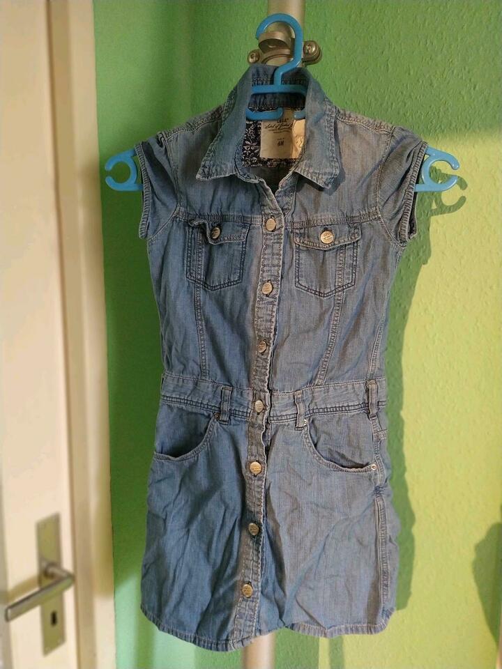 Hm 140 Jeanskleid Kleid Jeans Mädchen In Berlin