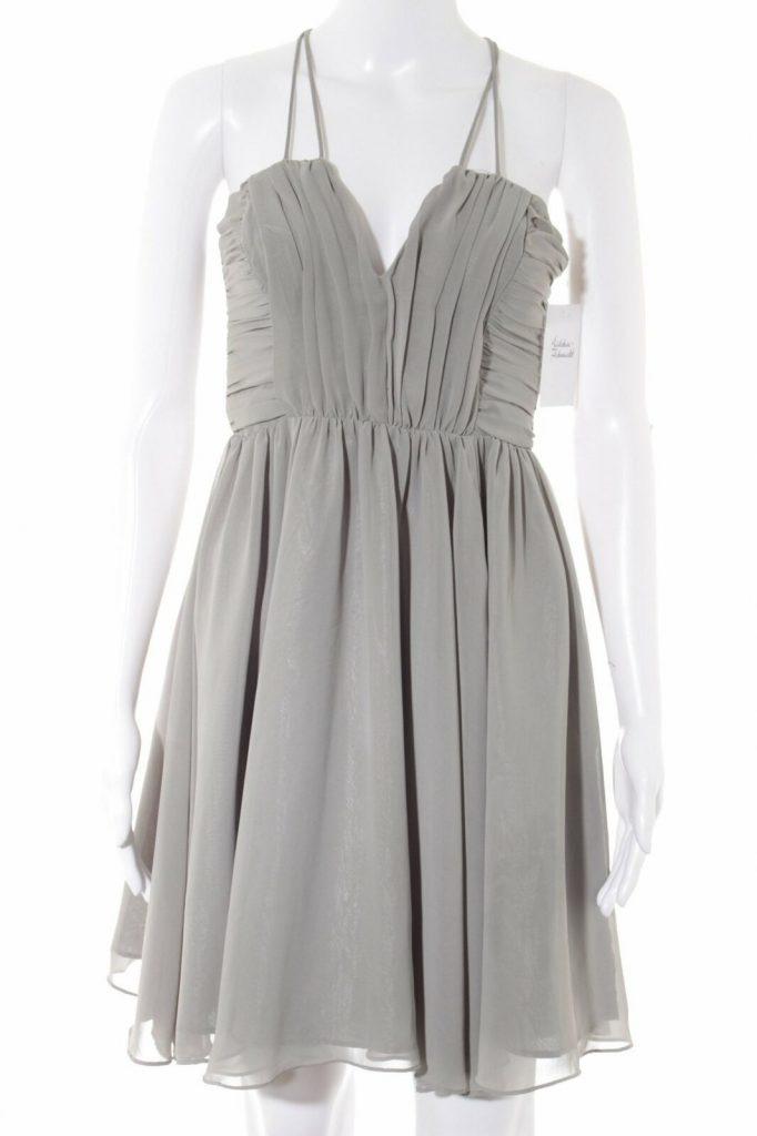 Hm Cocktailkleid Grau Elegant Damen Gr De 34 Kleid Dress