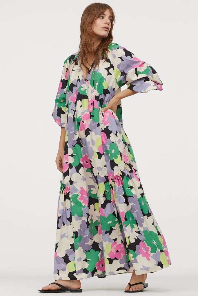 Hm Cotton Kaftan Dress  Hm Dresses For Today Collection