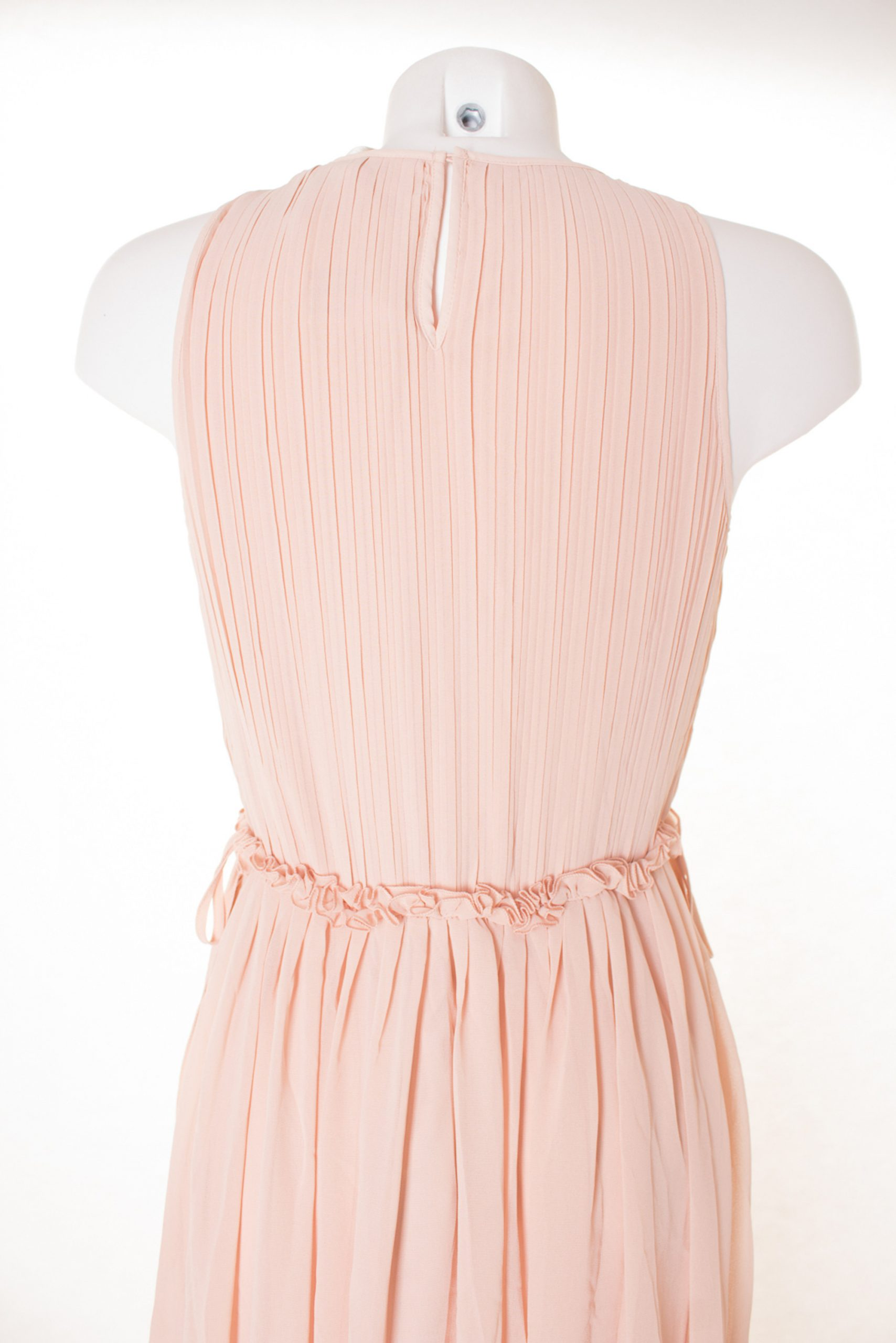 Hm Kleid Dress Robe Maxikleid Damen Gr De 40 In Rosa Neu