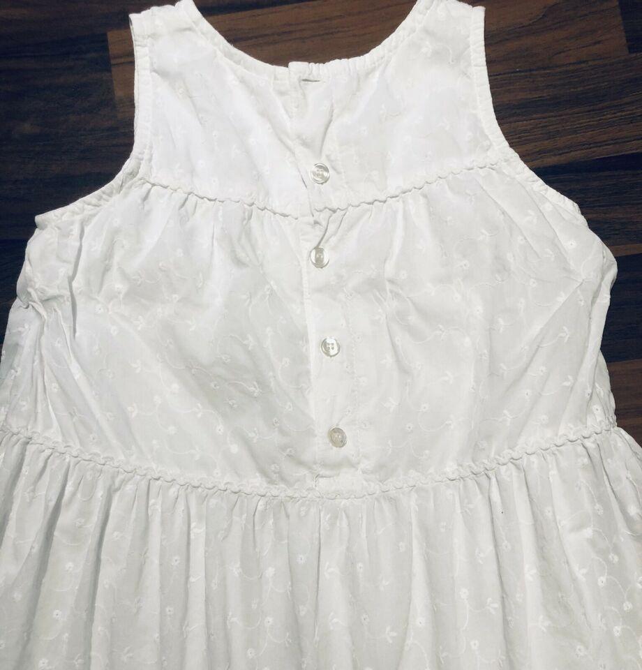 Hm Kleid Mädchen Gr 128 Top Zustand Sehr Schick Weiß In
