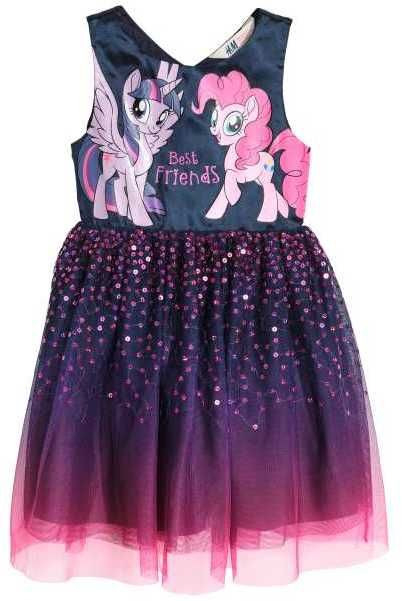 Hm Sequined Tulle Dress  Baby Frocks Designs Kids Dress