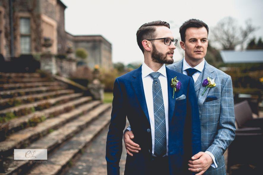 Hochzeit David  Lee Zwei Männer Heiraten Auf Der