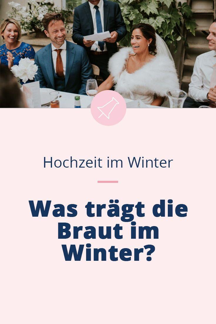 Hochzeit Im Winter  Was Anziehen