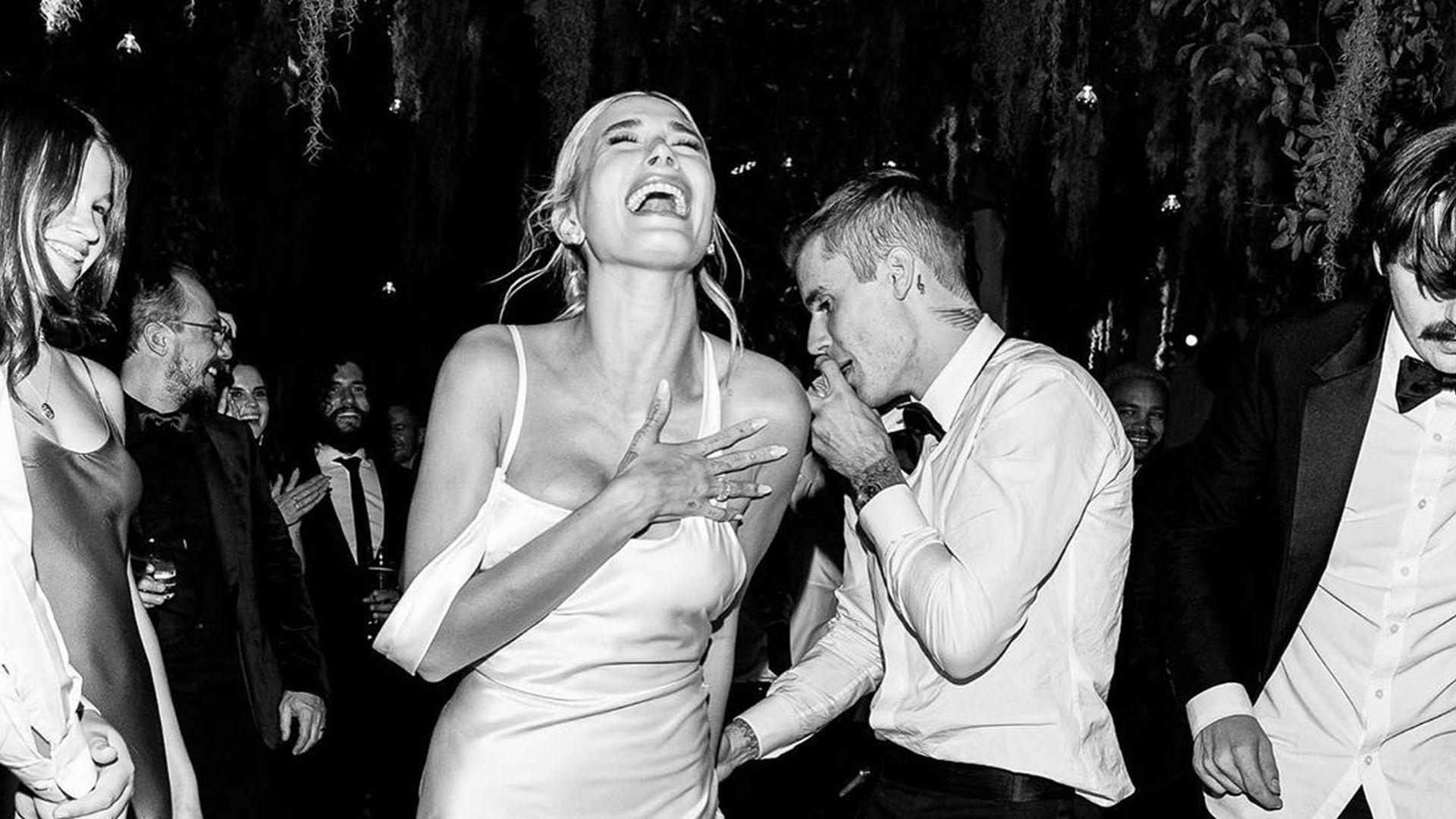 Hochzeit Justin Bieber Hailey Brautkleid  Hochzeits Idee