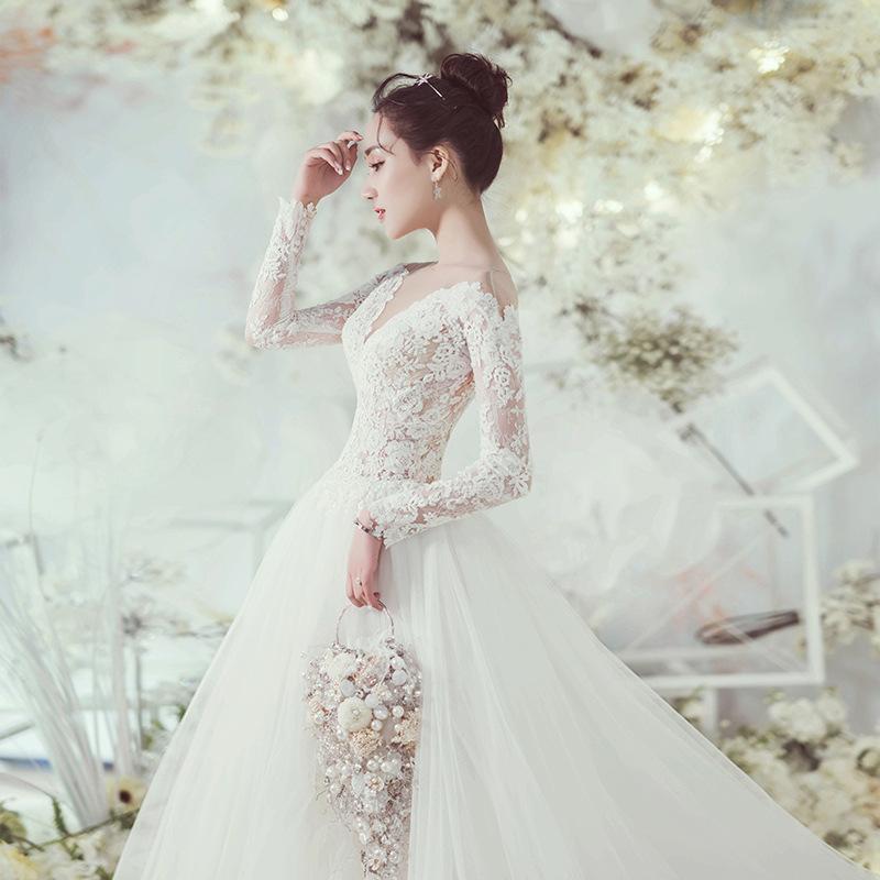 Hochzeit Kleider Ballkleid Für Braut Frauen Sexy Spitze