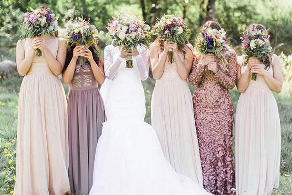Hochzeit Kleidung Gast Frau  Abendkleid
