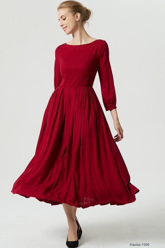 Hochzeit Rotes Kleid Brautmutter  Hochzeits Idee