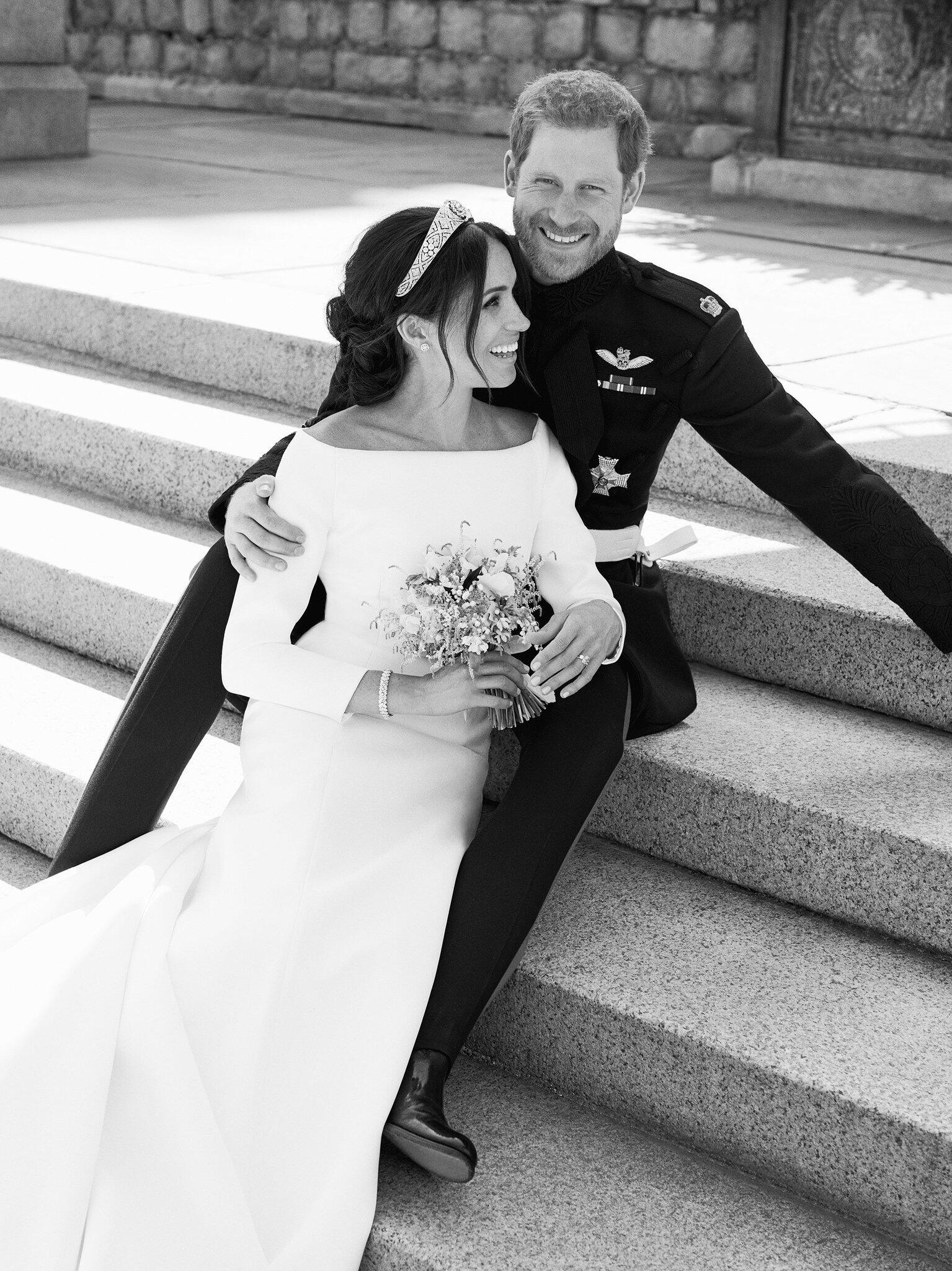 Hochzeit Von Harry Und Meghan Erste Fotos Sind Da  Webde