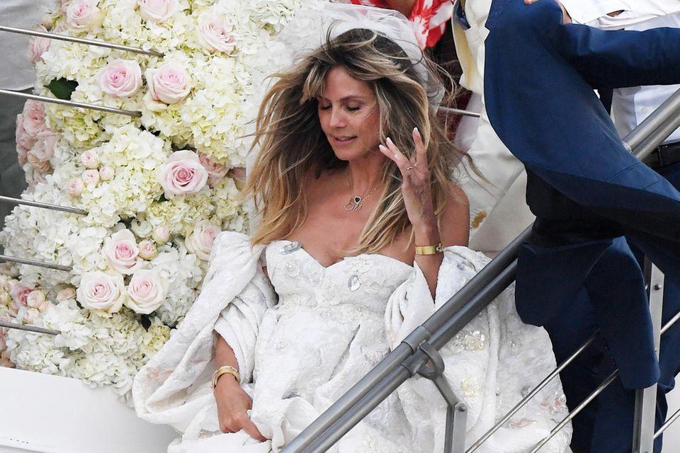 Hochzeit Von Heidi Klum Verheiratet Details Zum Jawort