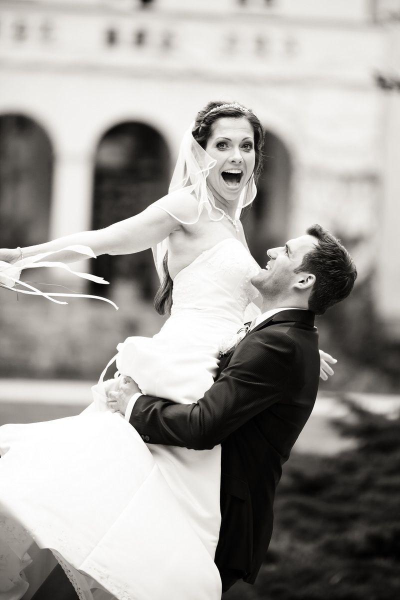 Hochzeitsfoto In Schwarz/Weiß Heiraten Wedding