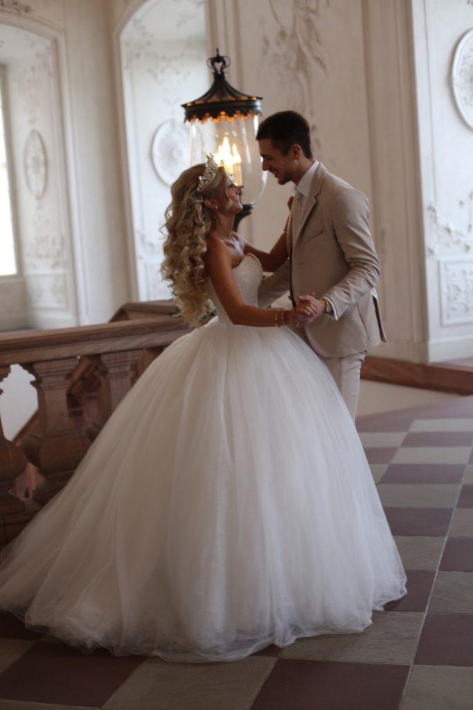 Hochzeitsfrisur  Mannheim Hochzeit  Brautstyling