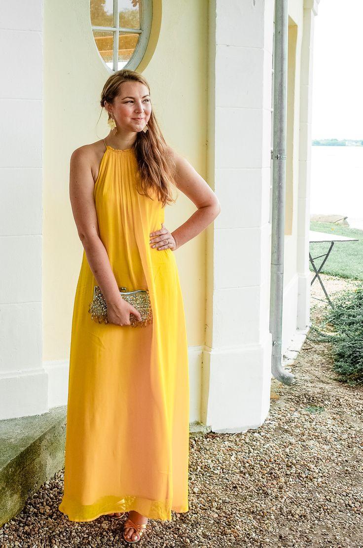 Hochzeitsgast In Gelb  Die Erste Hochzeit Nach Unserer