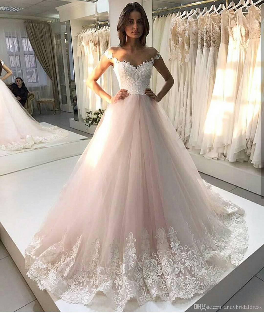 Hochzeitskleid Blush Vintage
