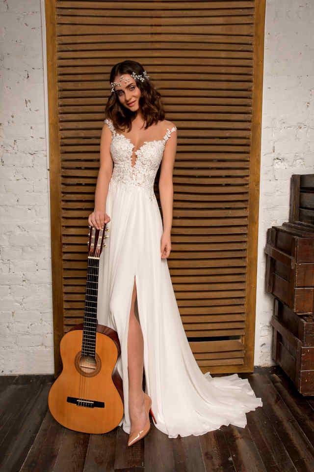 Hochzeitskleid Boho  Brautmode Hochzeitskleider Vintage
