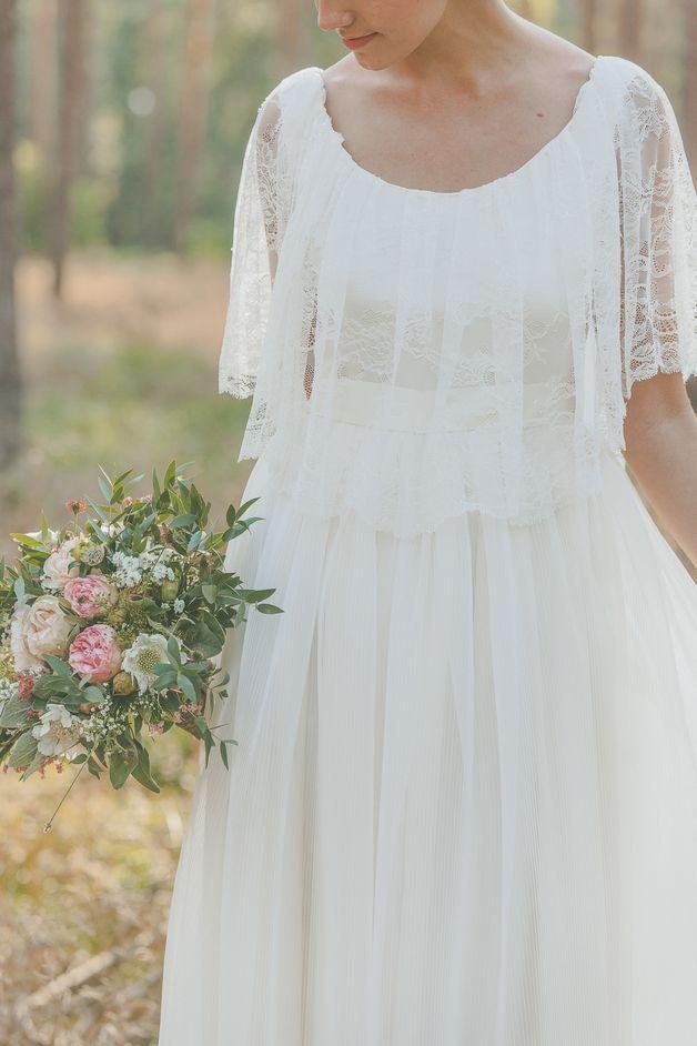 Hochzeitskleid Brautkleid Aus Spitze Vintage Boho