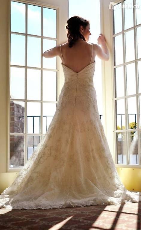 Hochzeitskleid Demetrios  Vintage Inspiriert Aline In
