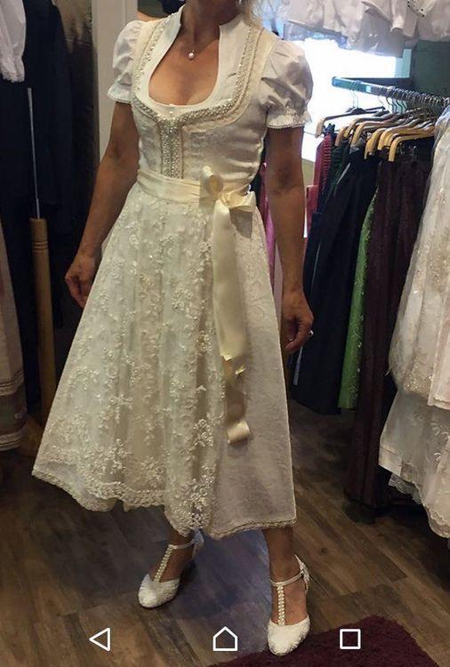 Hochzeitskleid Dirndl  Kaufen Auf Ricardo