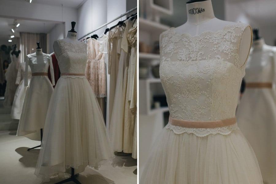 Hochzeitskleid Elfenkleid  Friseur