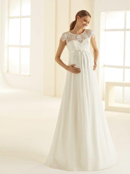 Hochzeitskleid Für Schwangere  Samyra Fashion