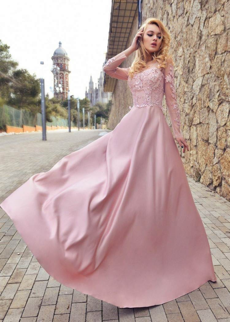 """Hochzeitskleid In Rosa  Der """"Blush"""" Hochzeitstrend Bleibt"""
