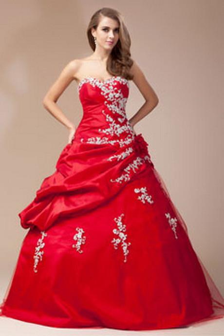 Hochzeitskleid In Rot