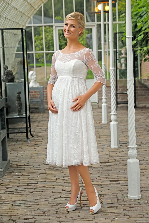 Hochzeitskleid Knielang Vintage