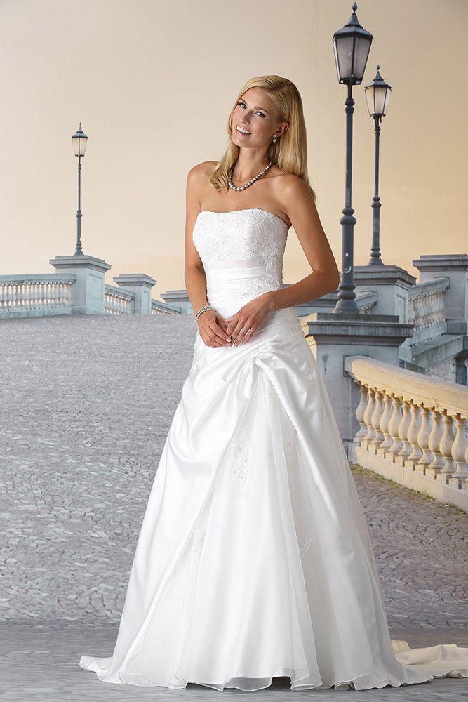 Hochzeitskleid Ohne Träger  Hochzeitskleid Kleid