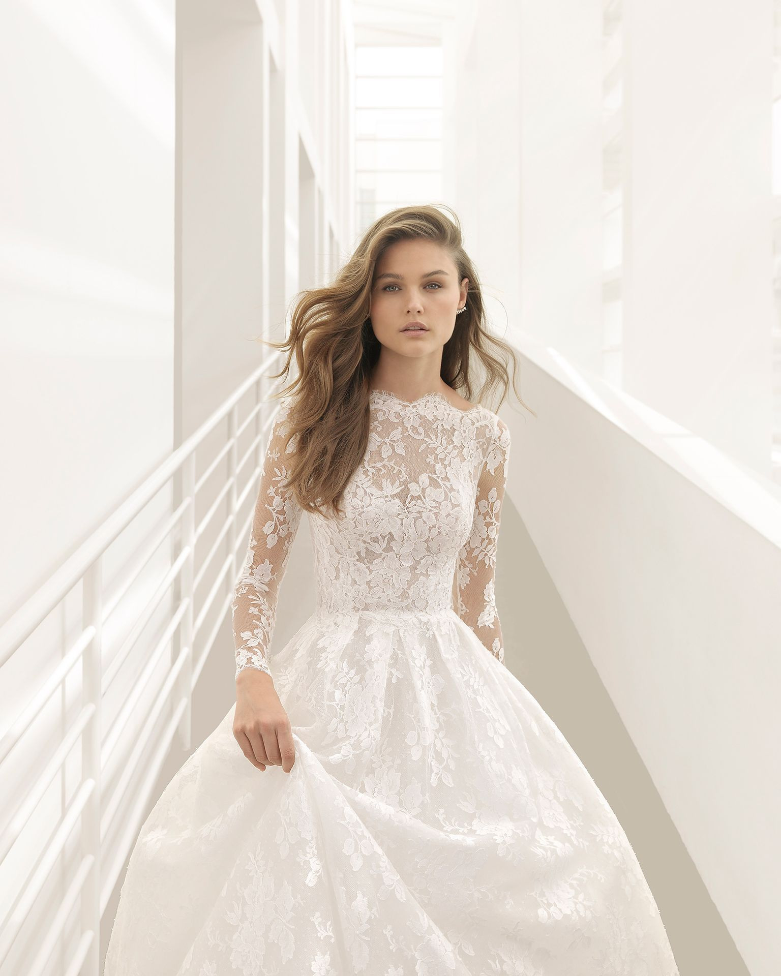 Hochzeitskleid Rosa Clara  Abendkleider  Elegante