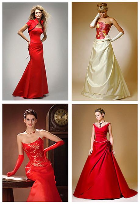 Hochzeitskleid Rot