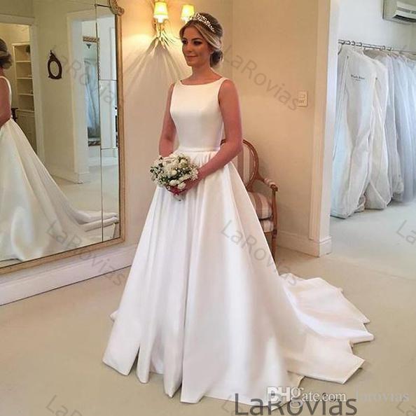 Hochzeitskleid Satin  Hochzeitskleid Brautmode Und