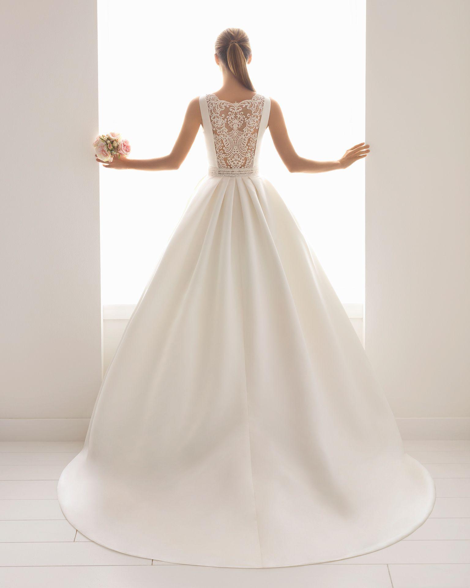 Hochzeitskleid Satin  Valentins Day  Hochzeitskleid