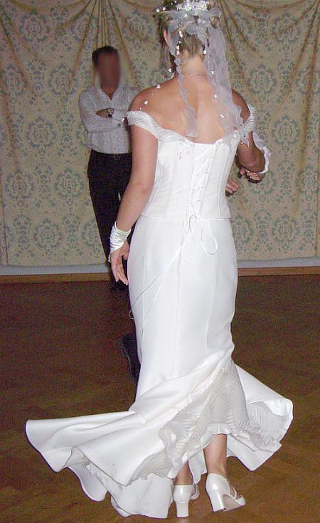 Hochzeitskleid  Schleieralarm