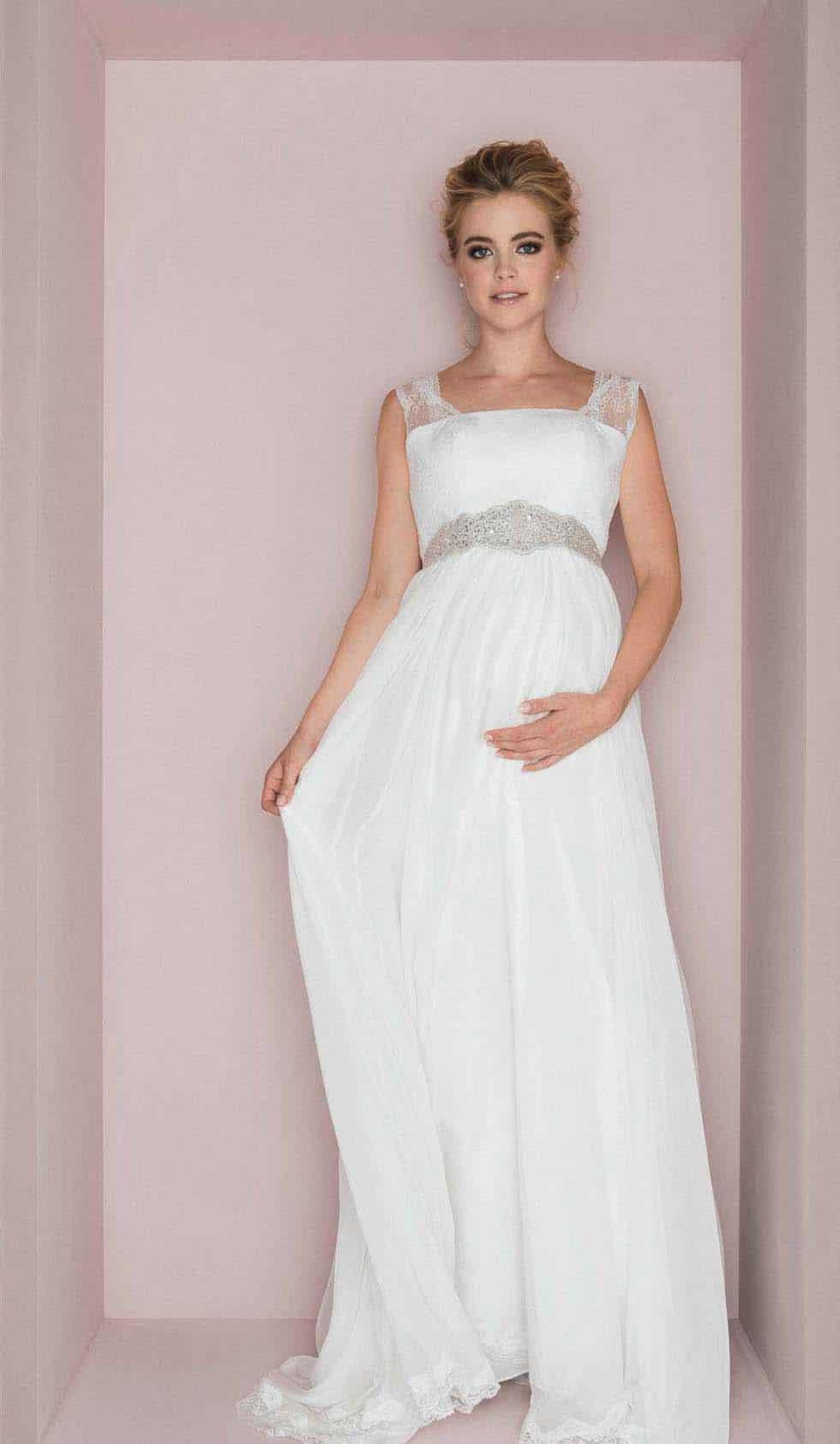 Hochzeitskleid Schwanger  Hochzeittrauungparty
