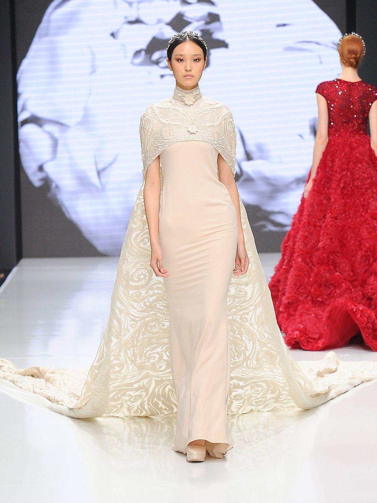 Hochzeitskleid Skorpion  Mode Glamour Modestil