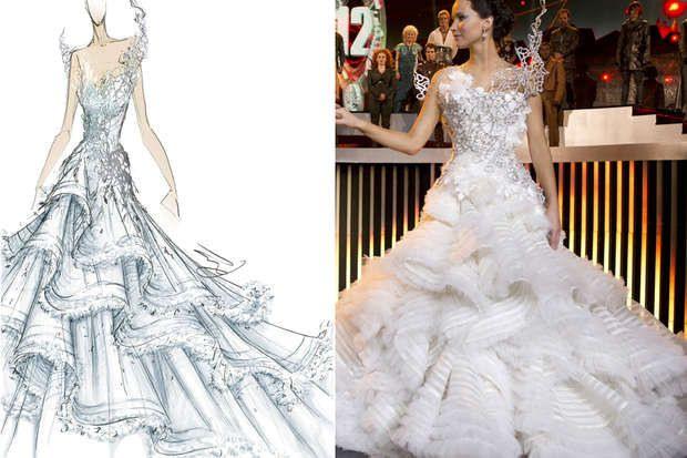 Hochzeitskleid  Tribute Von Panem 2  Panem Tribute Von