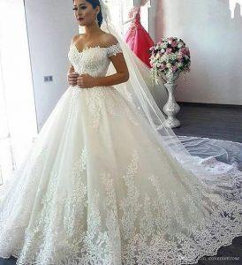 Hochzeitskleid Türkisch  Ballkleid Hochzeit
