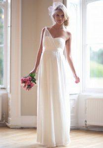 Hochzeitskleid Von Mamarella  Brautmode Für Schwangere