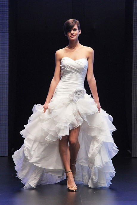 Hochzeitskleid Vorn Kurz Hinten Lang