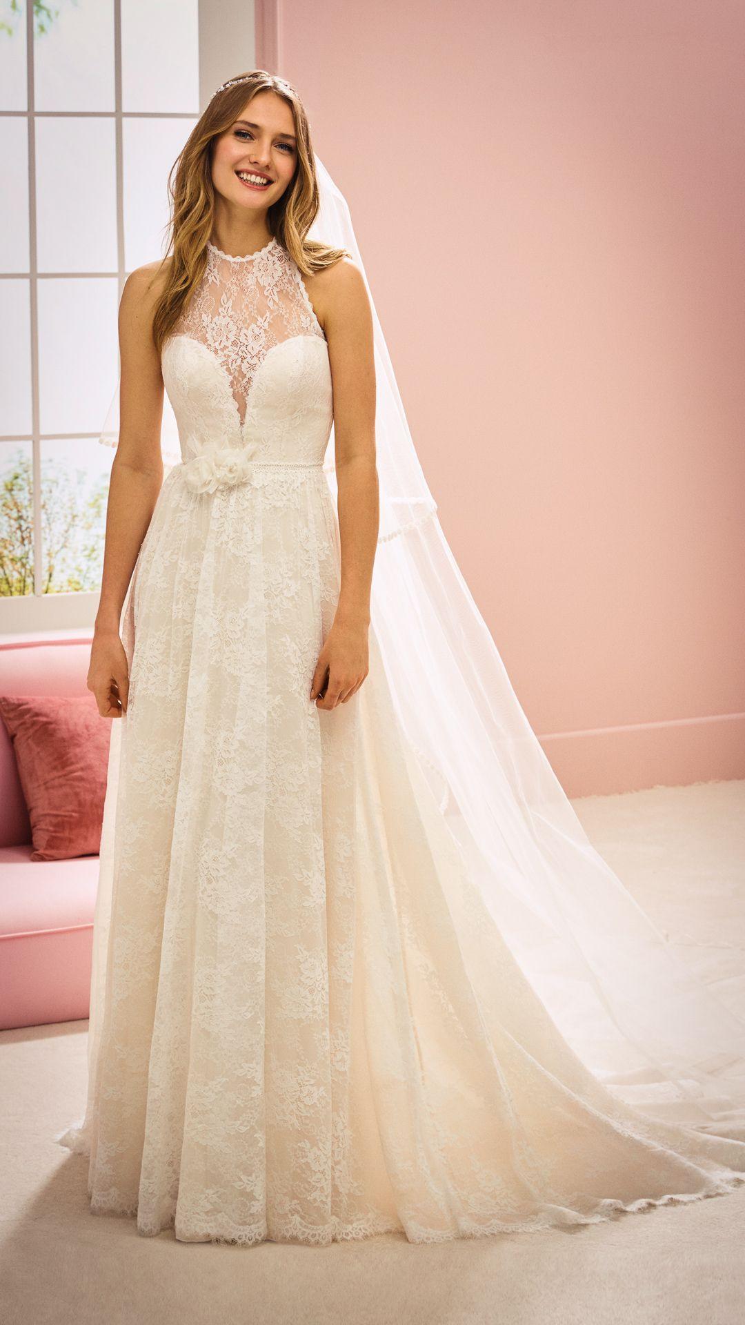 Hochzeitskleider 2020 White One Kollektion Modell Ashley