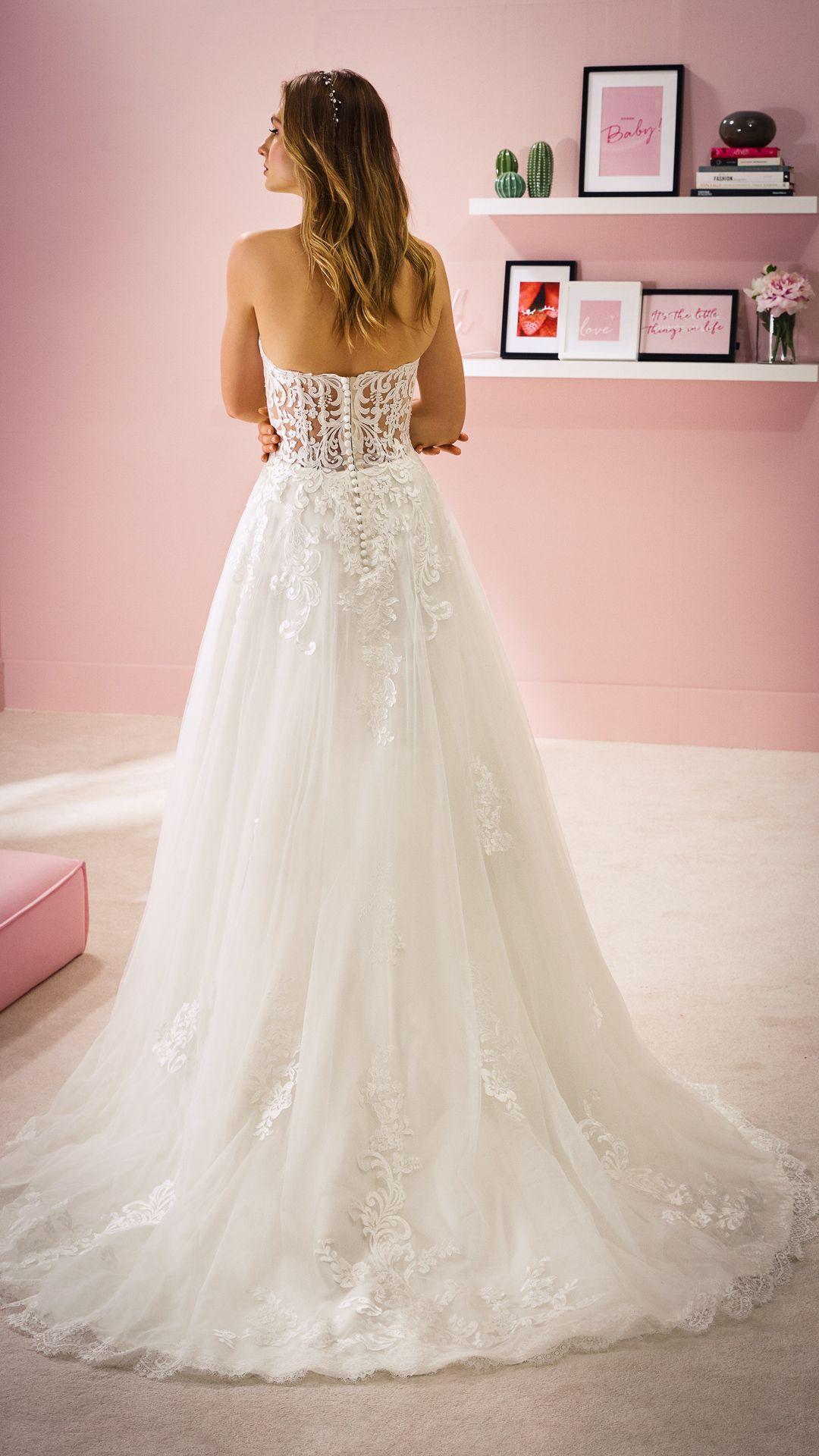 Hochzeitskleider 2020 White One Kollektion Modell Summer
