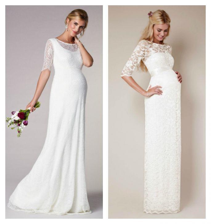 Hochzeitskleider Für Die Schwangere Braut Wir Stellen 15