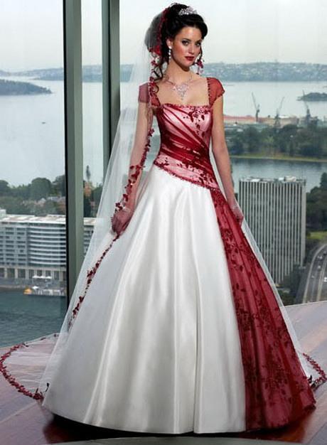 Hochzeitskleider Rot