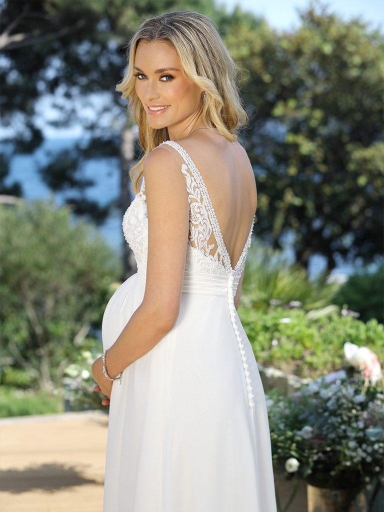 Hochzeitskleider Schwanger  Abendkleider  Elegante