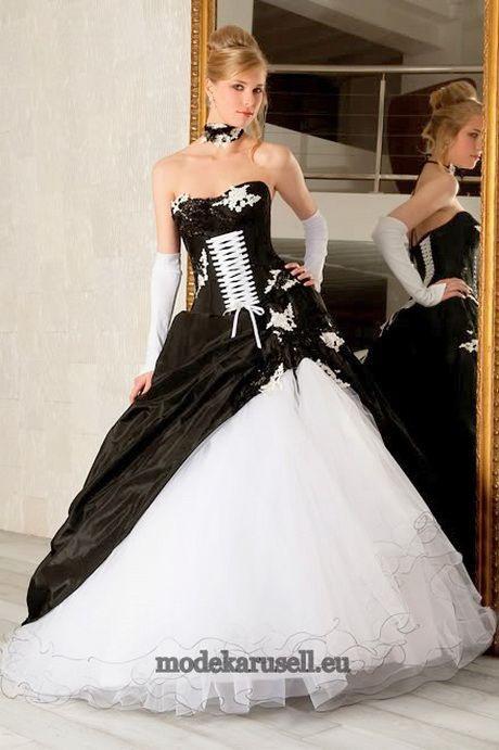 Hochzeitskleider Schwarz Weiß  Abschlussfeier Kleider