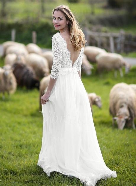 Hochzeitskleider Standesamt Winter